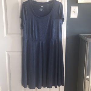 Soft a-line/skater dress